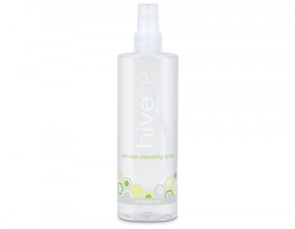 Hive pre wax cleansing spray, coconut & lime 400ml