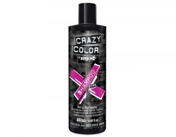 Crazy Color shampoo, pink