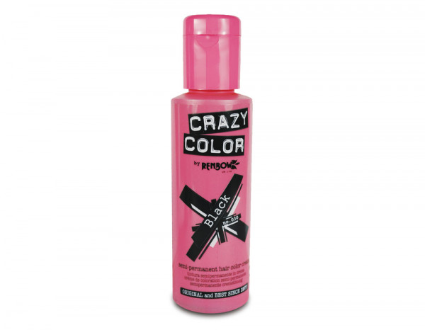 Crazy Color 100ml, 30 black
