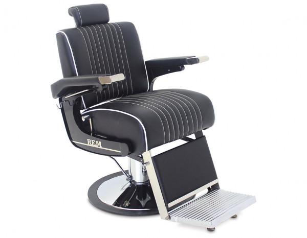 REM Voyager barber chair, black
