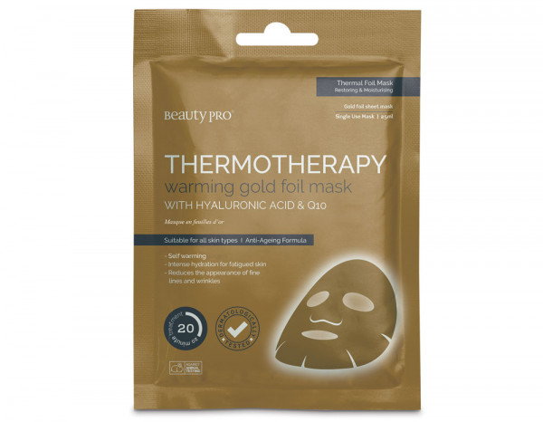 BeautyPro gold thermotherapy mask