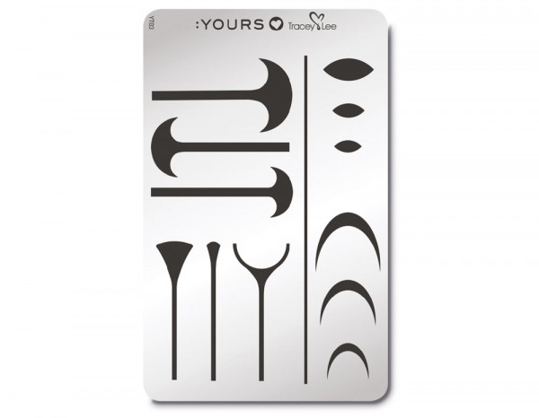 Yours stamping plate, Shape Up!