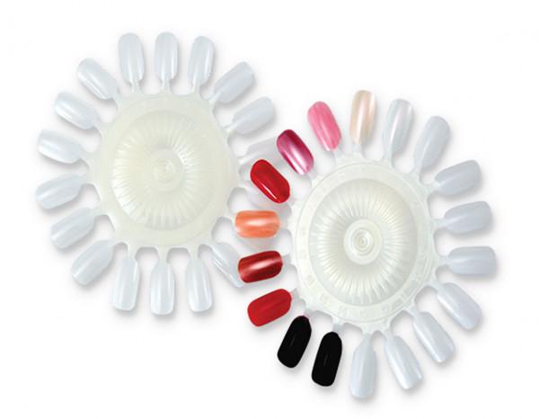 Colour wheel unpainted large, 20 nails