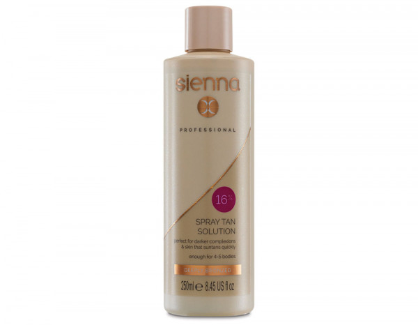 Sienna X 16% spray tan solution 250ml