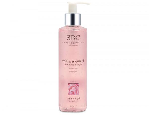 SBC rose and argan oil gel 250ml