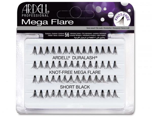 Ardell mega individuals knot-free black, short