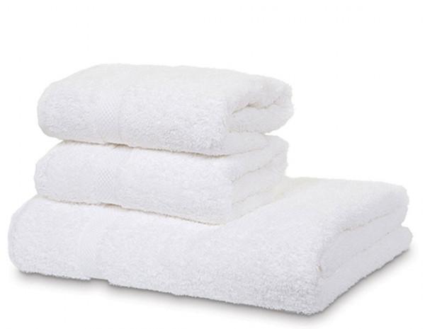 Serenity hand towel, white