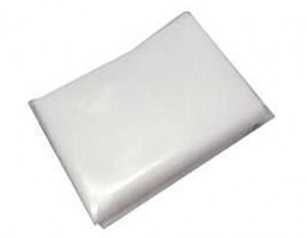 Soft as silk cloth, white