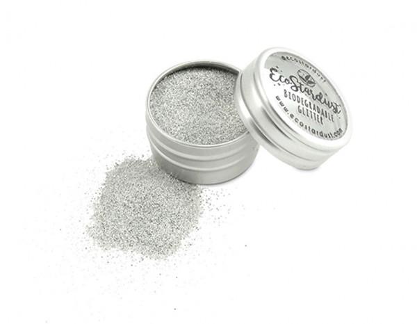 EcoStardust glitter 6g, Silver Pearl