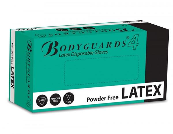 Latex powder free gloves medium (100)