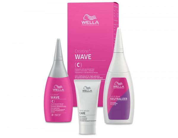 Wella creatine+ wave, coloured/sensitised hair