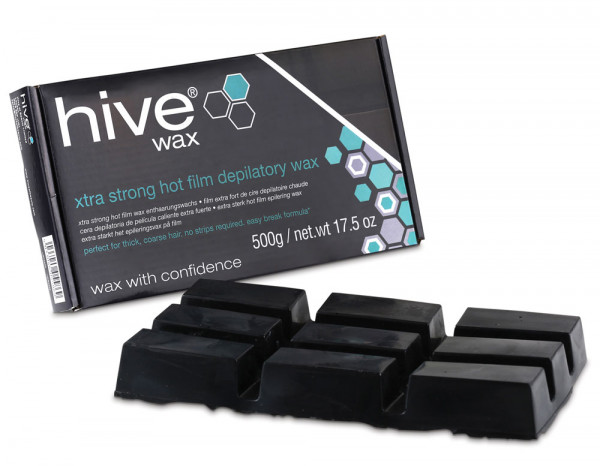 Hive xtra strong hot film wax, 500g