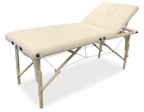 Portable massage table biscuit