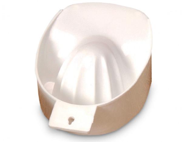 Manicure bowl, white