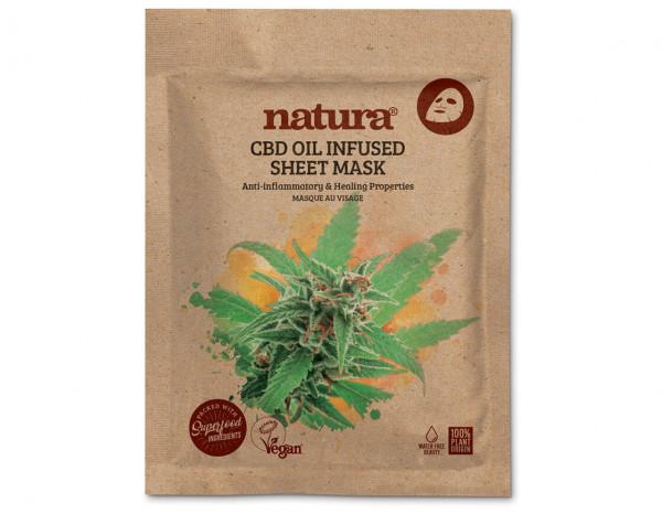 natura CBD oil infused mask