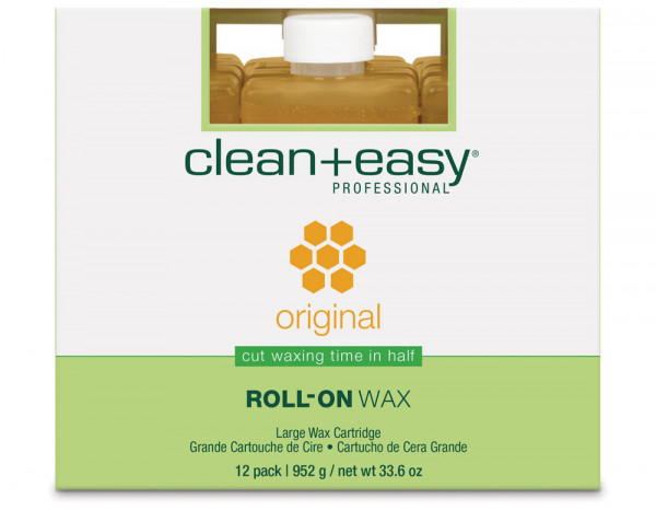 clean+easy original wax refill, large (12)