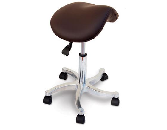 Shown in chocolate, Pony stool dark grey