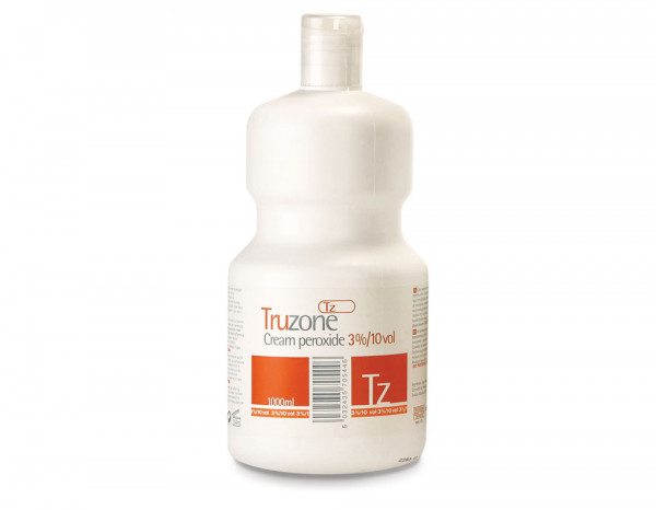 Truzone cream peroxide 3% 10 vol 1L