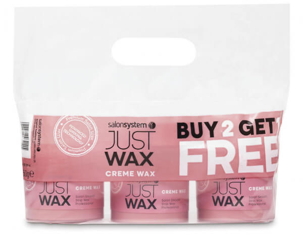 just wax creme wax 3 for 2 offer