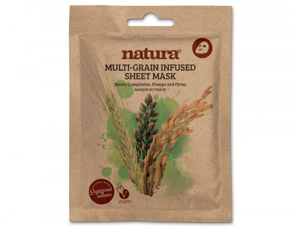 Natura multi-grain infused mask