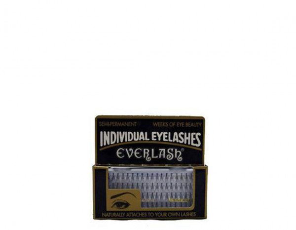Everlash individual lashes spread long black