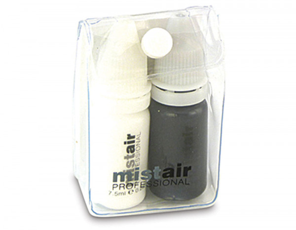 Mistair professional black and white duo pack (2)