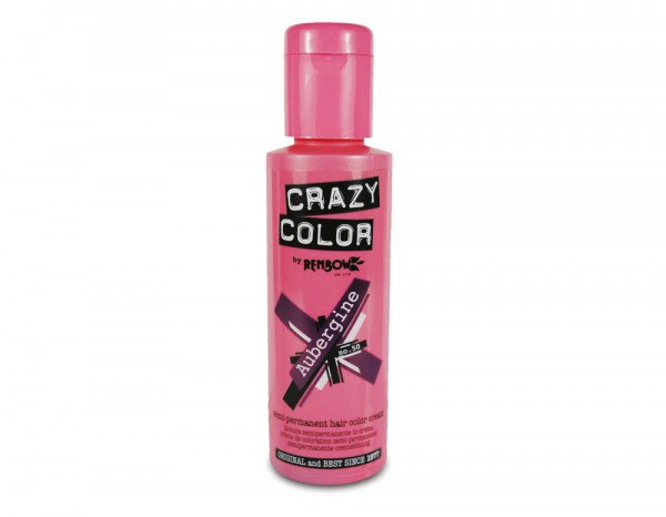 Crazy Color 100ml, 50 aubergine