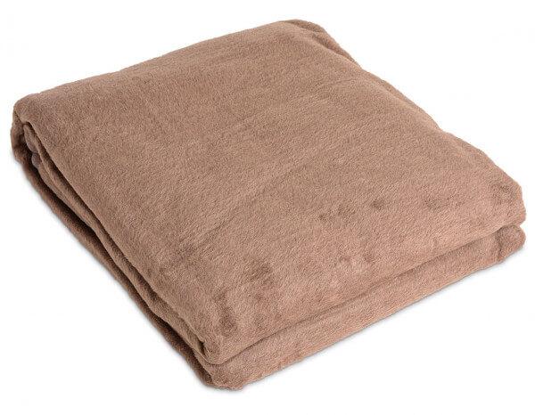 Fleecy blanket, pebble