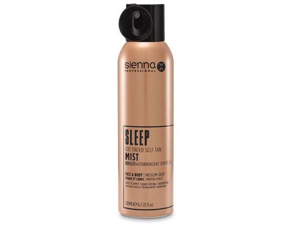 Sienna X sleep Q10 tinted self tan mist 200ml