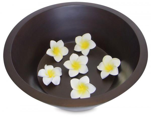Wooden pedicure bowl
