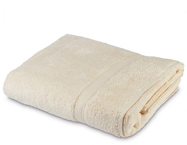 Sumptuous jumbo bath sheet XL, ivory